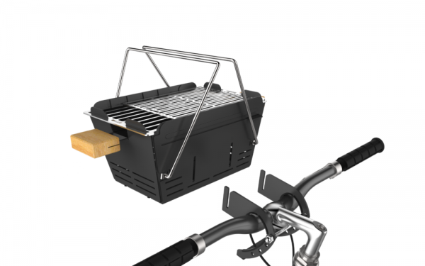 Fahrradhalterung für Knister Grill